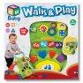 Chodítko aktivní svítící a hrající interaktivní dětské pro první krůčky s vkládačkou