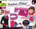 Pletací stůl Miley 3v1+ pletení plast v krabici