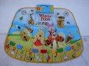 Hudební koberec Medvídek Pú taneční elektronický 10 melodií