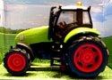 Traktor zvukový kovový