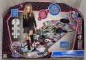 Taneční koberec hrací podložka Monster High elektronická hra na baterie se světlem se zvukem