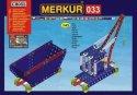 Merkur stavebnice 33 Železniční modely